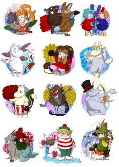 Moomin Zodiac by Genolover