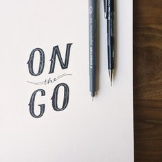 Moving fast into a new week! Lettering by @wonderfall #freshstartmonday #lettering