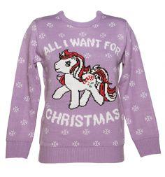 My Little Pony de punto puente de Navidad