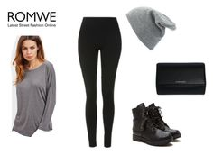 """""""Romwe"""" by realitybytes85 ❤ liked on Polyvore featuring Topshop, Givenchy and Charlotte Russe"""
