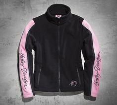 Women's Pink Label Fleece Jacket - I want this jacket. Love the Harley Davidson Pink Label Line.                                                                                                                                                                                 More