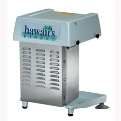 Machine shaved real hawaian ice