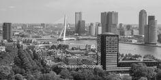 Rotterdam van boven: Euromast