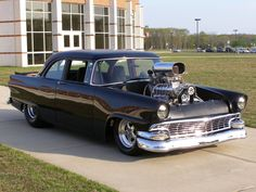 Ford : Fairlane Prostreet Coupe, Supercharged, Street Rod