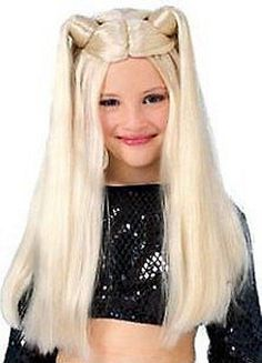 My Little Rock Star Long Blonde Costume Wig *** Check this awesome product by going to the link at the image. (This is an affiliate link) Rock Star Outfit, Wigs For Sale, Wig Making, Costume Wigs, Little Rock, Halloween Costumes, Dress Up, Take That, Stars
