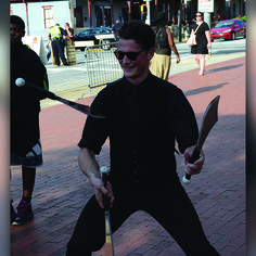One of the sharpest men in show business, Logan demonstrating his three knife juggling cascade!  #knifejugglin #juggling #Sharp #TheImperialOPA #Circus #Atlanta #OPA #AtlantaCircus ------------- #1 rated entertainment booking company in GA!   Contact us today and lets make unforgettable events together!