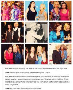 Amy Poehler and Rachel Dratch