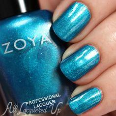 Zoya Oceane nail polish swatch - Summer 2015 Paradise Sun collection via @alllacqueredup