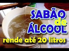 SABÃO DE ÁLCOOL QUE RENDE ATÉ 20 LITROS!! - YouTube Perfume, Coco, Pudding, Desserts, Youtube, Marie Kondo, Homemade Recipe, Homemade Fabric Softener, Petroleum Jelly