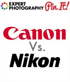 Canon vs Nikon - Both make great DSLR cameras, but which is better? We look at the strengths and weaknesses of both camera brands and give our answer! Photography Lessons, Photography Camera, Photography Projects, Photography Tutorials, Digital Photography, Amazing Photography, Learn Photography, Photography Articles, Fun Questions To Ask