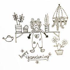 Doodle gardening