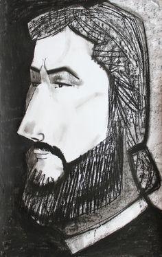 Drawing)Portrait)1/70 cm
