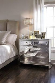 You are glamorous and your bedroom should be too! Get the look only at Value City Furniture #cityfurniture