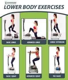 Vibrating machine on Pinterest | Exercise Chart, Exercise and Plates