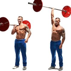 21 best barbell moves
