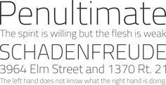 #freefonts #fonts #schriftarten #brotschrift #typo Titillium Font Phrases