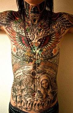 body art with a story - the best!