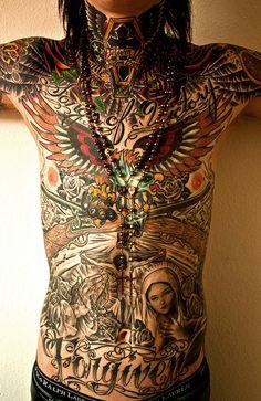 full body tattoo *****