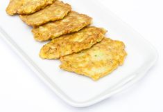Zucchini and cheese appetizers Cheese Appetizers, Zucchini, French Toast, Good Food, Healthy Eating, Snacks, Meat, Breakfast, Recipes