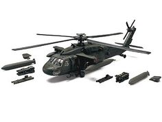 Sikorsky UH-60L Black Hawk (Baghdad 2003) Diecast Model Airplane Forces Of Valor UN84002 1:48 scale This Sikorsky UH-60L Black Hawk (Baghdad 2003) Diecast Model Airplane features working rotors, tail rotor and also opening side doors, engine covers. It is made by Forces Of Valor and is 1:48 scale (approx. 30cm / 11.8in rotor span).  The UH-60L is the newest variant to a highly advanced and highly reliable front line utility helicopter. The L model features new engines producing 24 percent…