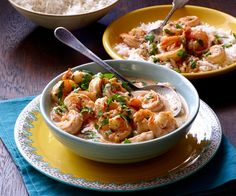 Shrimp in Spicy Thai Coconut Sauce - by Jeffrey Saad from Moveable Feast with Fine Cooking  Episode 2