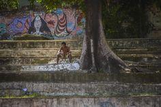 Homeless... - null Brazil, Painting, Art, Art Background, Painting Art, Kunst, Paintings, Performing Arts, Painted Canvas