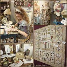 Bloček I - 2. hodina - Irmiklub.cz Annie Smith, Susan Smith, Hatch Patch, Annie Downs, Blog, Embroidery Applique, Pin Cushions, Diy And Crafts, Patches