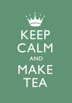 """Tea Fixes Everything. That's what """"Carry On"""" in the original sign meant. Have you had your cuppa, sonny boy?"""