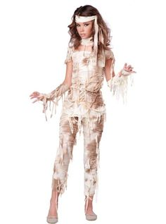 Teen Girls Mystical Mummy Costume - Never thought i'd want to dress up as a mummy...