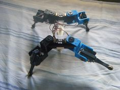 AT-AS quadruped (or hexapod) robot by Anandromeda.
