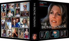 BIONIC WOMAN V1 Custom Photo Album 3-Ring Binder LINDSAY WAGNER #AveryDurableViewbinder