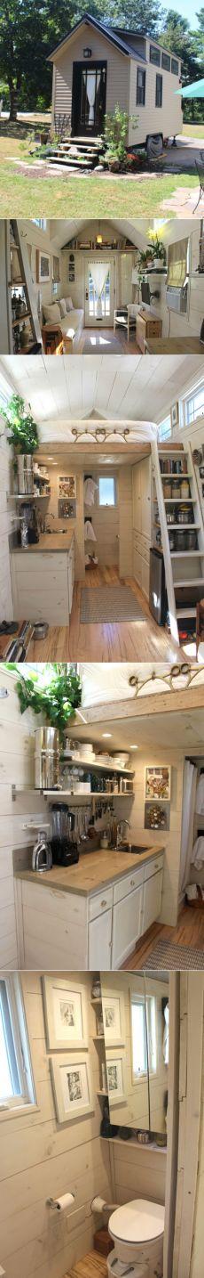 Маленький дачный домик со всеми удобствами — бездна идей | Дачный Дизайн — свежие идеи со всего мира