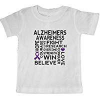 d32e3541 inktastic - Alzheimers Disease Awareness Month Ribbon Baby T-Shirt