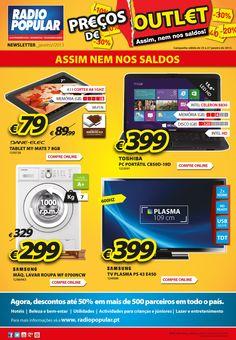 Newsletter - Preços de Outlet!    http://www.radiopopular.pt/newsletter/2013/10/