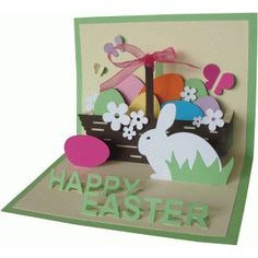 Silhouette Design Store - Search Designs : card pop up easter