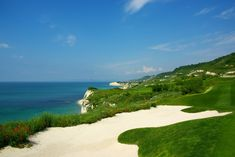 One of my favorite places in Bulgaria: Thracian Cliffs Golf & Spa Resort near the Cape of Caliacra, Black Sea