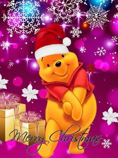 christmas, navidad, and winnie pooh image christmas, navidad, and winnie pooh image Winnie The Pooh Christmas, Cute Winnie The Pooh, Winne The Pooh, Winnie The Pooh Quotes, Winnie The Pooh Friends, Mickey Christmas, Snoopy Christmas, Pink Christmas, Xmas