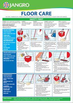 Floor Care Chart