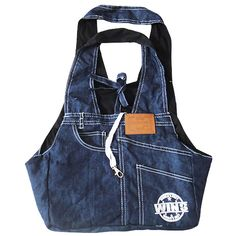 New Denim Material Pet Sling Dog Cat Carrier Bag Free Shipping by ...