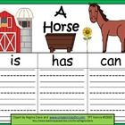 $ - Here are 3 graphic organizers to use when learning about horses and farm animals.  I gave you the option of either printing in color or black and w...