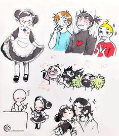 Cartoon As Anime, Cartoon Shows, Happy Tree Friends, Anime Love, Yuka, Relaxing Art, Anime Reccomendations, Cartoon Crossovers, Anime Couples Manga