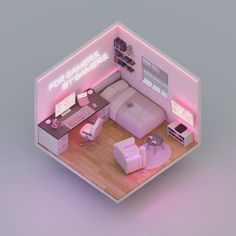 He wears that damn shirt every day, and you're gonna tell me you're i… #fanfiction Fanfiction #amreading #books #wattpad Bedroom Setup, Room Design Bedroom, Girl Bedroom Designs, Room Ideas Bedroom, Gaming Room Setup, Pc Setup, Cute Room Ideas, Kawaii Room, Game Room Design