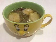 Sopa de empanadillas