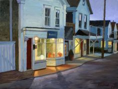 'Commercial Street at Night' by Paul Schulenburg
