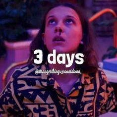 My God, just three more days! Stranger Things Season 3, America, Seasons, Mood, Instagram, Self, Te Amo, Seasons Of The Year, Usa
