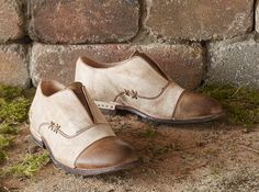Garden Shoes - Oxford-inspired garden shoes from BedStü.