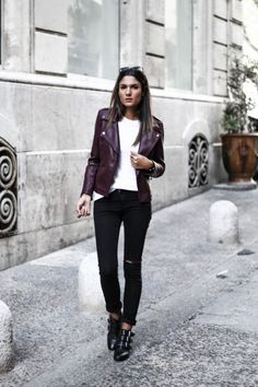 e009dead88a NEW STREET STYLE INSPIRATION  howtochic  ootd  outfit Zara Jeans