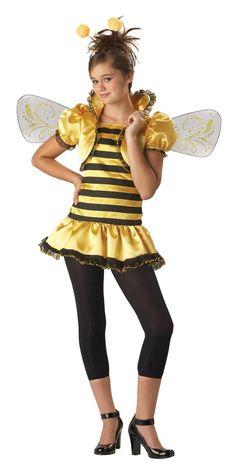 honey bee girl dress designer costume child - Bee Halloween