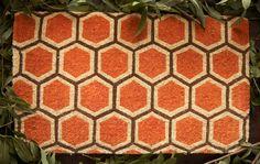 Honeycomb Doormat $35