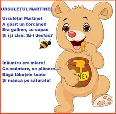 Romanian Language, Kids Poems, Activities To Do, Kids Education, Winnie The Pooh, Work Hard, Baby Dolls, Kindergarten, Crafts For Kids
